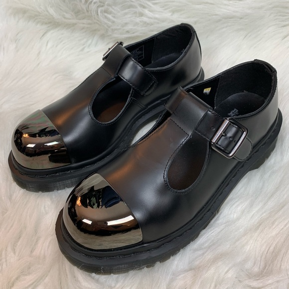 Dr Martens Grab Mary Jane Steel Toe T